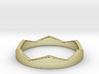 Petit Crown Ring Size 5 3d printed