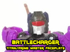 Battlecharger Runabout Face (Titans Return) 3d printed Hand painted Fud