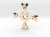 """large Ceridenkreuz pendant """"deluxe"""" 3d printed"""