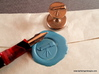 Telescope Wax Seal 3d printed Fountain pen not included!