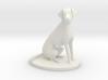 1/18 Sitting Dalmatian Dog for Auto Diorama 3d printed