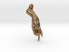 Hamsasyam Mudra Pendant/ Charm (Open) 2.5cm 3d printed