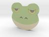 Emoji Frog 3d printed