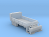 Rail Wheel Service Truck - Hyrail With Bumper 1-87 3d printed