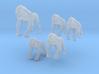 Gorillas - 1:160 (N scale) 3d printed