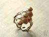 Bee Square 3T Cylinder Ring 3d printed