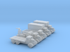 1/285 Scale Austin Truck Set Of 5 3d printed