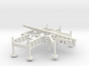 1/100 Scale Nike Missile Launch Pad 3d printed