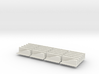 HO scale Jersey Barrier  20 each 10 ft 3d printed