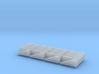 N Scale Jersey Barrier 20 each 10ft 3d printed