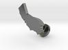 California Cufflink - Curved Bar 3d printed