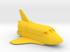 Funny Space Shuttle keychain 3d printed