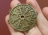 Dual-Sided Norse Medallion 3d printed