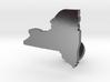 New York Cufflink - Curved Bar 3d printed
