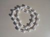 Ball jointed necklace (bead links)  3d printed