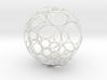 Bowers Circle Packing Ornament - 100 Circles 3d printed