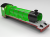 NWR #3 Old Shape Replacement Body 3d printed Coloured Render: Intended Finish