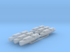 US Navy 40ft motor boat with open canopy 1/350 3d printed
