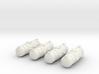 4 Fuel Pods 3d printed