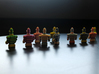 USB Robot's Army 3d printed Looking ahead