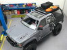 FR10030 Front Runner Slimline II Rack 4.8 x 6.5 3d printed Shown installed with accessories on the Proline 4Runner (all parts sold separately).