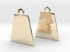 Basis earrings 3d printed