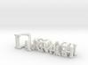 3dWordFlip: Darragh/Vickie 3d printed