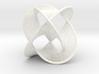Borromean Rings Seifert Surface (6cm) 3d printed