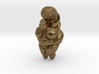Paleolithic stone age Mother Goddess idol pendant 3d printed