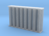 Replacement radiator for Thunder Models Scammell P 3d printed