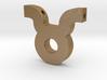 Taurus Symbol Pendant 3d printed