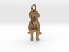 Goldendoodle Pendant 3d printed