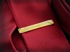 Geometric Art Deco Tie Clip 3d printed Geometric Art Deco Tie Clip (Small) on a skinny tie