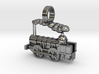 Locomotive Coppernob Jewellery Pendant 3d printed