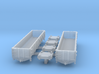40 ft. Composite Gondola Wagon 1/350 3d printed