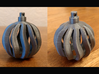 Christmas Bauble Wavy 3d printed
