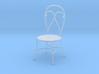 'Finer Fare' Chair 1:12 Dollhouse 3d printed