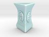 Personalised Hwa Bun Triangular Pot 3d printed Personalised Hwa Bun Triangular Pot
