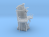 1/125 USN Fletcher Funnel1 Searchlight Platform 3d printed