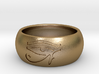 """Ring engraved with """"EYE of HORUS""""  3d printed"""
