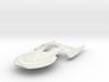 Federation  Valakira Class II  BattleGunShip 3d printed