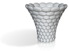 Ellipsoid Decorated Vase 3d printed