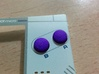 Game Boy Micro A+B buttons 3d printed