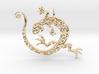 Lizard Dance 3d printed