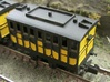 N Gauge L&MR 1st Coach (Motorised) 3d printed N Gauge L&MR Coach (motorised) assembled and painted.
