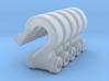 5x Haken Forst Seilwinde 3d printed