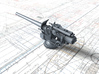 "1/96 Queen Elizabeth Class 6"" BL Mark XII Deck Gun 3d printed 3d render showing part detail"