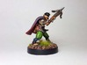 Halfling Assassin 3d printed Painted with acrylic paints and mounted on a custom 1 inch base.