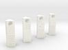Element Stone Pendants (4 Pack) 3d printed
