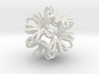 Outward Deformed Symmetrical Sphere Version 2 3d printed
